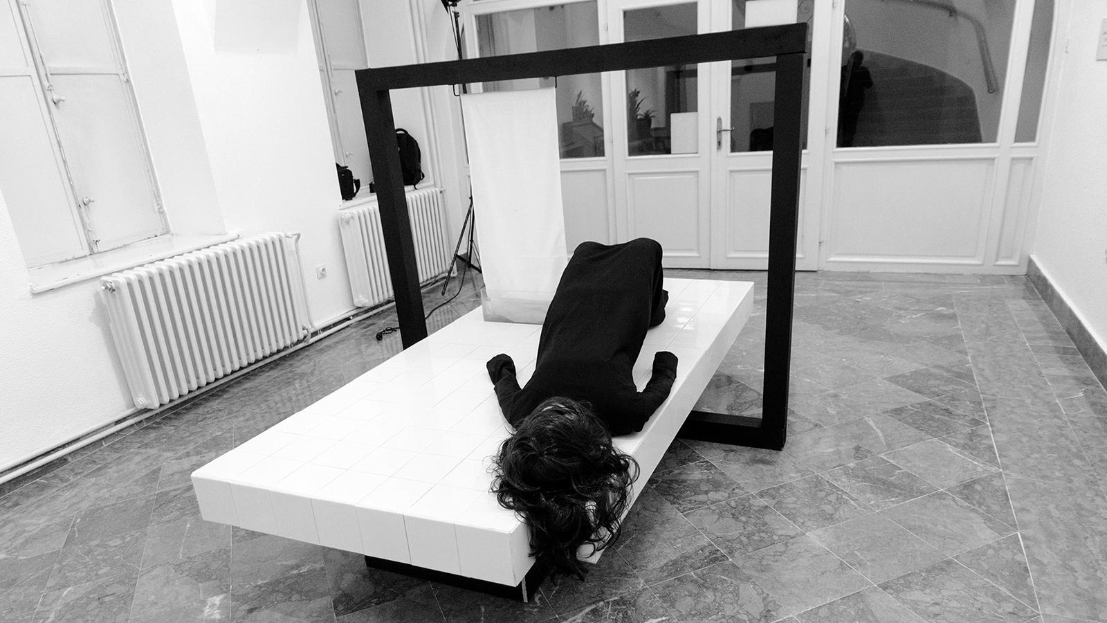 goran despotovski, irony, dead water (mrtva voda), 2016